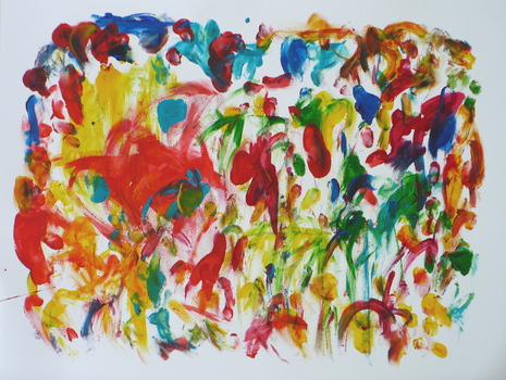 Gold_digger_1-2009-2007-acrylic_on_paper_24x28_in