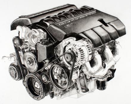 Vette_engine