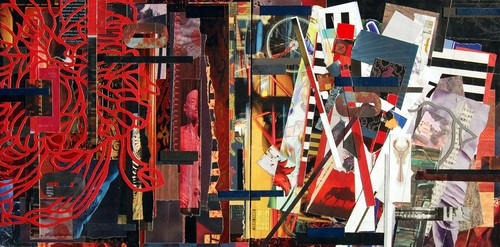 Tm_gratkowski_natural_selection_20inx10in_paper_on_wood_diptych_2009