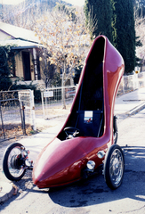 High-heelmotorbike