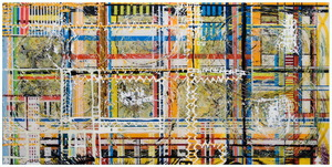 Life_is_a_circle_-_24_inches__x_48_inches__-_mixed_media_on_wood_-_2007
