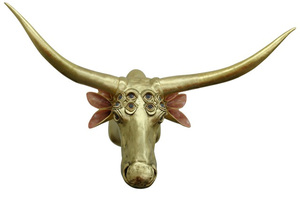 20100909165952-j_levine_golden_multi_ocular_longhorn_mixed_media_50_x_62_x_36_
