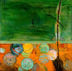 20101117162627-georgette_osserman_the_magnetic_pull_of_polar_opposites_mixed_media_on_wood_60_x60web