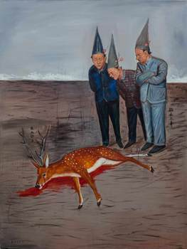 20101124173124-who-killed-the-deer_-2010_oil-on-canvas_200x150cm