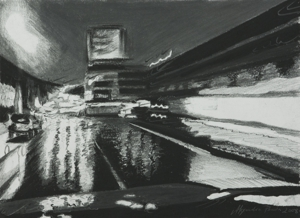 Jaunt__1__8x11__graphite_and_charcoal_on_paper__2008