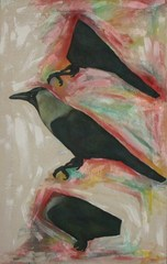 Crow_30cm60cm_acrylic_2008_sm