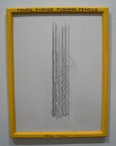Pencil_pusher_drawing_framed