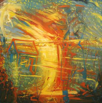 Frazelle_dreamer_48x48_oil_on_canvas