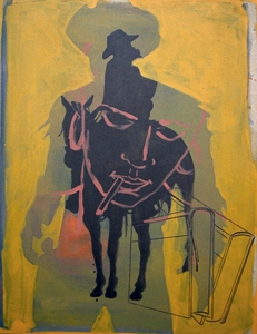 Schneider_gunfighter_36x28_oil_and_acrylic_on_linen_2008