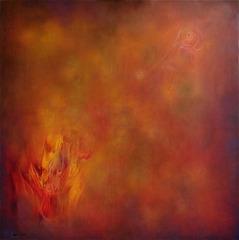 Orion_vir_ga__2005___130x130__olaj__v_szon__orion_s_flower__oil_on_canvas_2