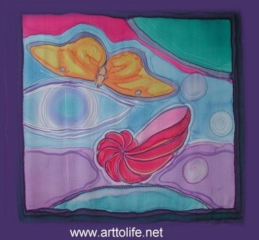 20110401102937-orange_butterfly_and_red_seashell