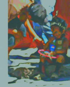 20110422023918-boy-resting-from-a-long-day-of-parading_painting015