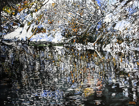 20110501164539-reflections_of_fleeting_fate_along_the_river_leaking_daylight_30x40_