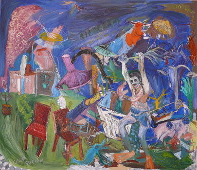 2007_crazy_peruvian___130cm_x150cm__mixed_media