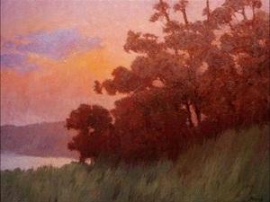 20110620171037-sunsetglowportuguesebend_24x31_oil_canvas
