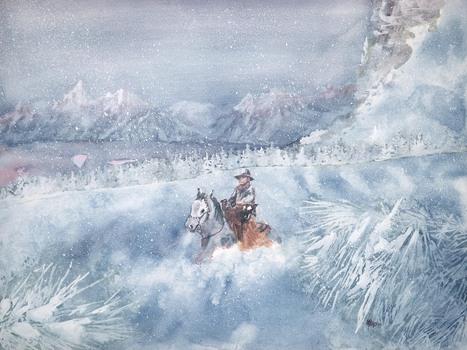 Cowboy_montana_snow