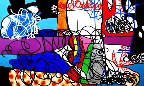 20110807135407-first_we_will_take_manhattan-flashe_vinyl_on_canvas-36_x60_-2011