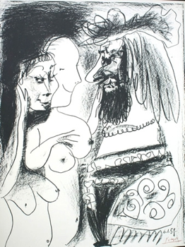 Picasso_-_the_old_king