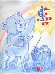 20110913104547-9_thomas_sherrod_bear_and_fawn_2002