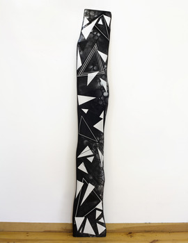20110918135446-jason_middlebrook-black_and_white_series__number_1-2011-acrylic_on_wood_plank-98x14x2
