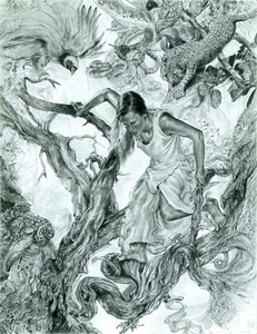 20110129043425-3_sarahhorvat_tree_of_knowledge_graphite_14x11