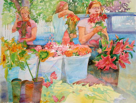 20110928055149-wendy_shalen_vineyard_flower_girls_25_5_x_20_inches_watercolor_on_paper_2009_