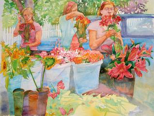 20110928055149-wendy_shalen_vineyard_flower_girls_25_5_x_20_inches_watercolor_on_paper_2009_