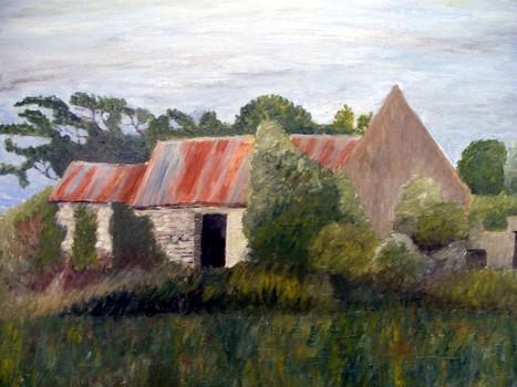 Ab_-_deserted_farm_buildings__rahealy__2006__17_x_21__wood___280_