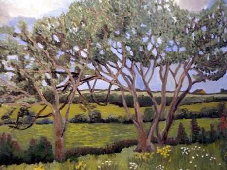 An_-_trees_over_farmland__ardoughter__2004__16_x_20__canvas___240_