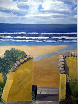 Bb_-_steps_to_the_beach__ballybunion__2005__20_x_16__canvas___240_