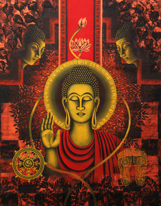 20111029113958-code___fg_110__size___30x40_inch_title___lord_buddha_xxix____mudeim_-_acrylic_on_canvas__price-rs_90_000__inr_