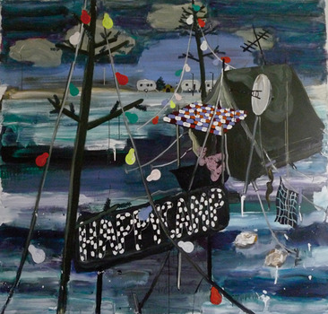 20111102031013-janine_bean_gallery__per_adolfsen__happycamp__acrylic_on_canvas_190x200cm