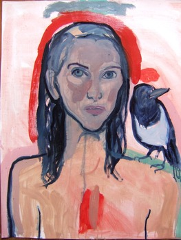 20111129185919-the_magpie_knew_everything__65_x_50cm__oil_on_paper__2011
