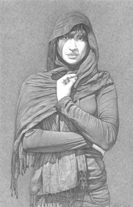 Black-shawl