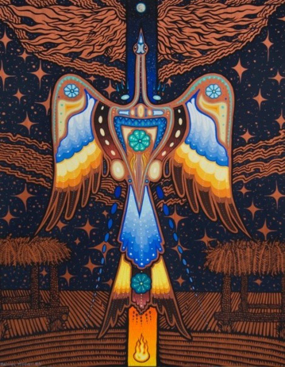 новая индейцы пейот картинки рисунки человек