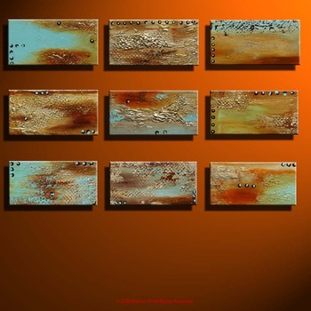 Texture_set_of_nine_orange_bg