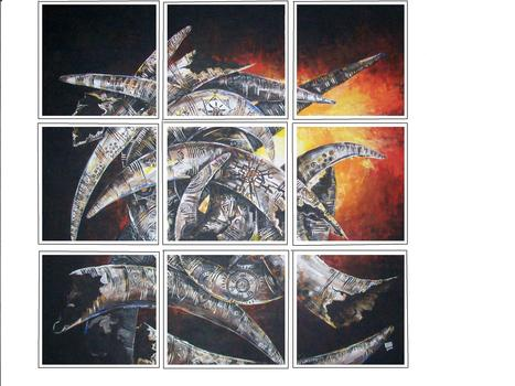 20120124120515-peals_of_thunder___installation_of_9_pieces___acrylic_on_canvas__13in_by_13in_each_2010__ngn_30_000_each__ngn_250_000