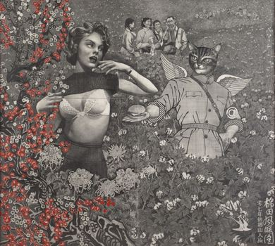 20120124135637-qiu_jie__mao_in_the_cotton_field__2007_pencil_on_paper_59x66_inches__low_res_
