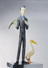 20120207090750-_________marcel_duchamp_with_birds_______153x70x70cm_______________2009
