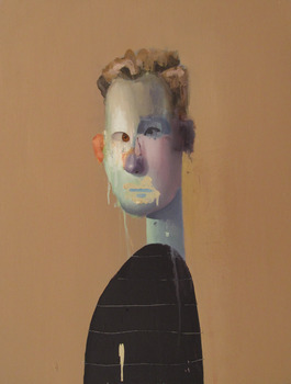 20120219162431-2011___untitled_portrait_with_five_lines_and_orange_ear___oil_on_canvas_18x24_inches