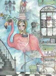 Flamingo_framed