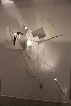 20120612171756-galactic_edge_apprx_120_x_76_mixed_media__acrylic__plywood__lights__telescope__and_electric_wire_2012_-_lo_res