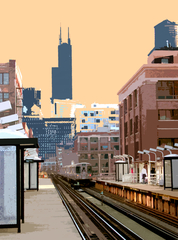 20120912201514-swallow_chicago_ave_l_stop_-digitally_enhanced_photo_16x20