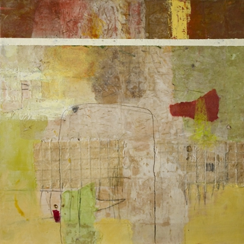 Lisa_pressman_mapping_2_36_x_36_encaustic_2008