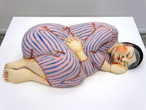20121111085603-akio_takamori_sleeper_in_striped_dress_2012_3287_377