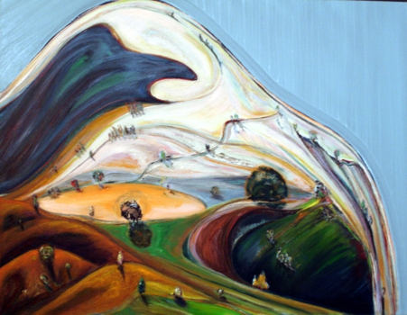 White_mountain_oil_on_paper_14x17_2007-2008