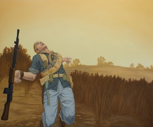 20130214221722-death_of_a_loyalist__2012__oil_on_canvas__50_22x60_22