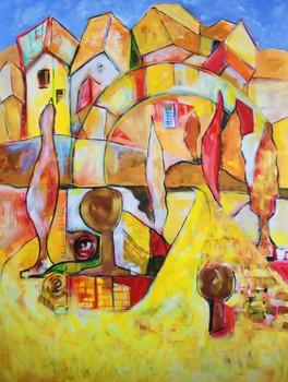 20130225195012-2011_the_yellow_brick_road_acrylic_on_canvas_40x30__