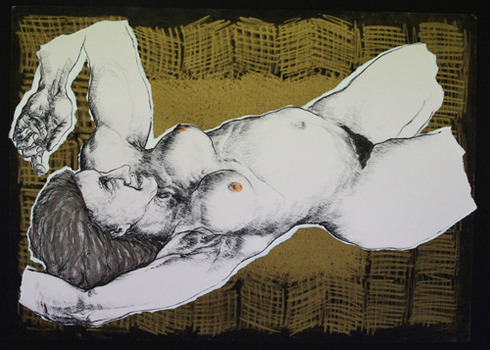 20130227145150-reclining_figure_gold_h56_x_w78cm_silkscreen_collage_on_paper