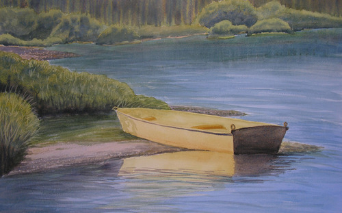 20130313052742-yvonnenewhouse_yellow_boat_watercoloronpaper_11x17